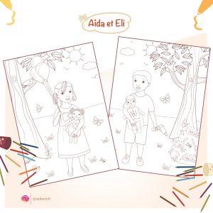 48 - visuel coloriages gratuits bis