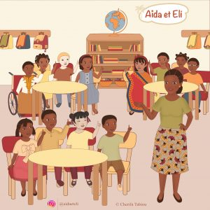 A&E - Salle de classe