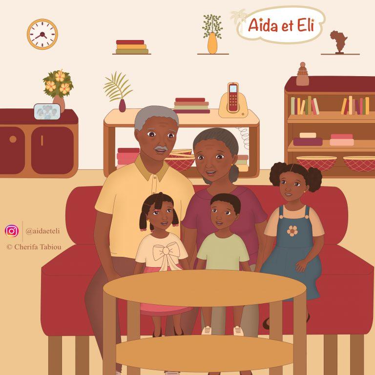 A&E - avec grands-parents