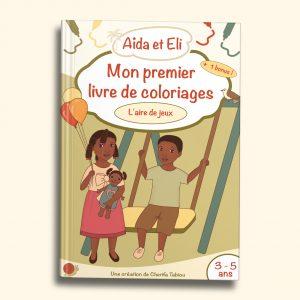 Aïda et Eli - livre de coloriages